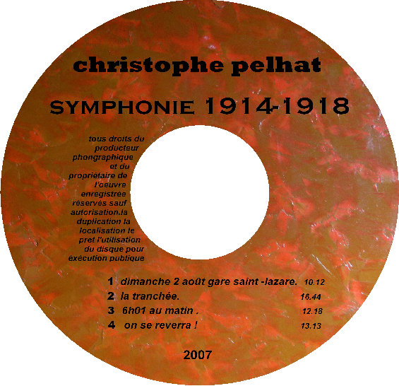 Symphonie 1914-1918 cd
