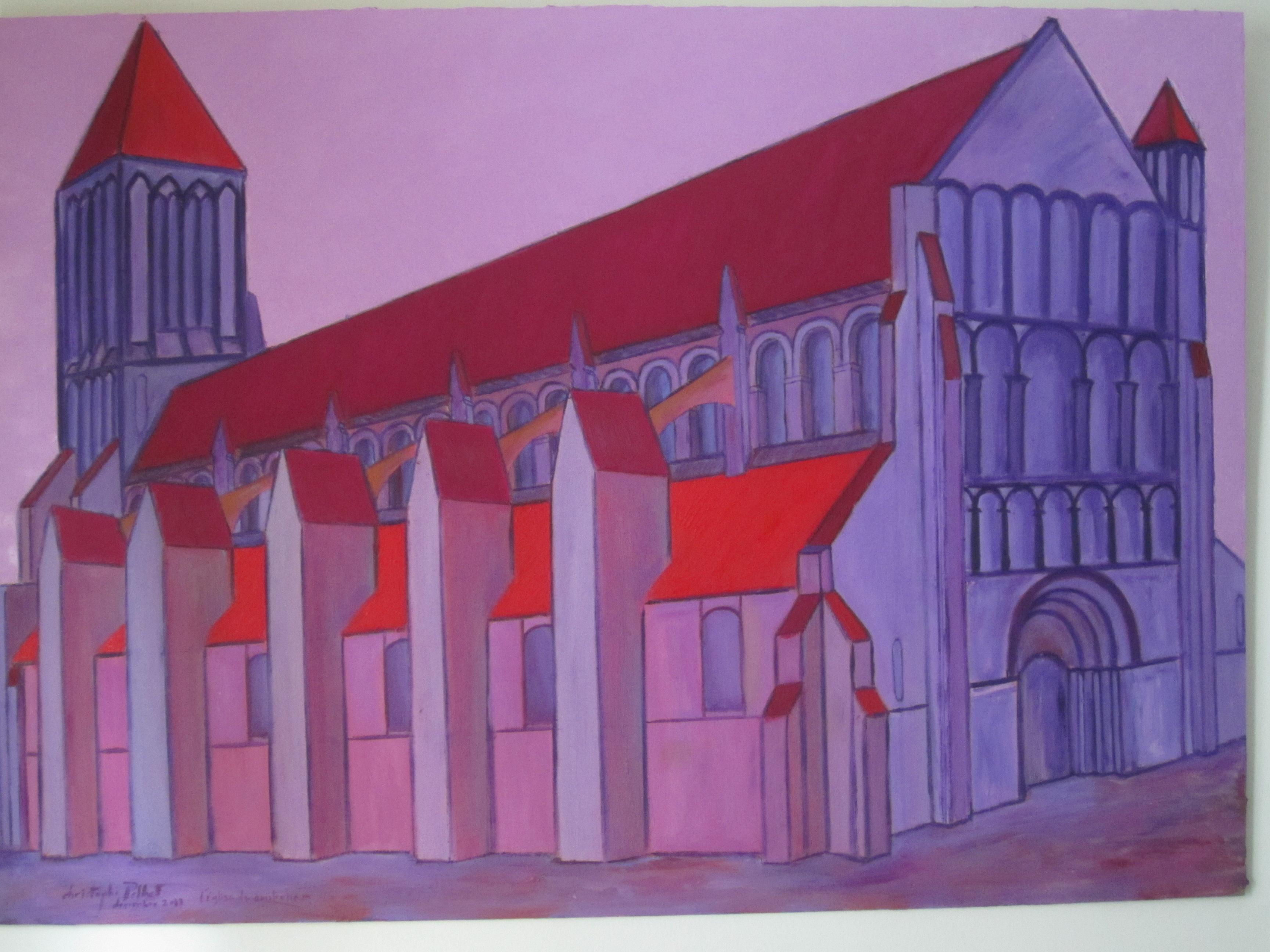 Eglise de ouistreham - Christophe Pelhat